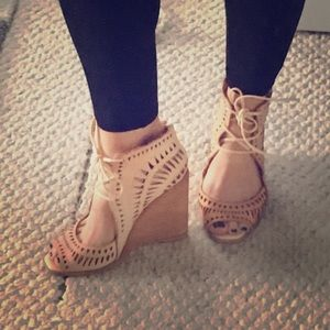 Jeffrey Campbell boho wedges
